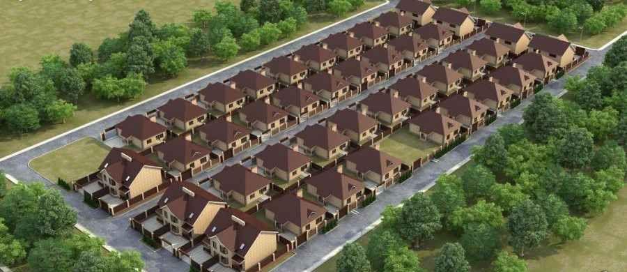 Коттеджный поселок Изумрудный город  в Краснодаре