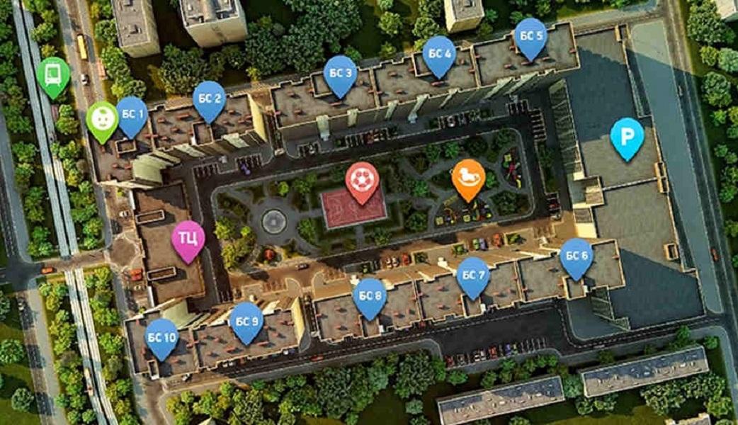 фото-3 3-к квартира 85 кв.м. в Краснодаре ЖК на Магистральной цена 3250 т.р.