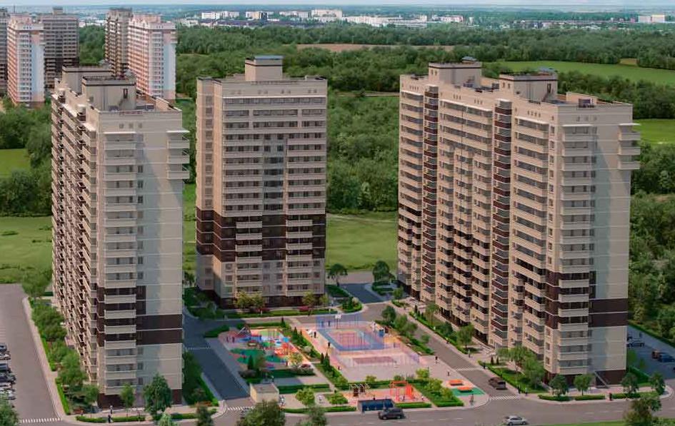 Купить 1-к квартиру район ГМР | Гидростростроителей ЖК Трилогия Краснодар | фото - 1