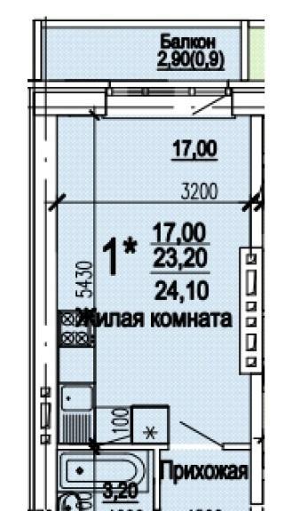Планировки ЖК Оазис Краснодар | план - 5