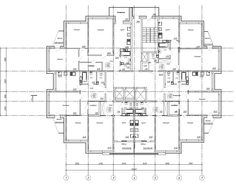 Планировки ЖК Акварель Краснодар | план - 3