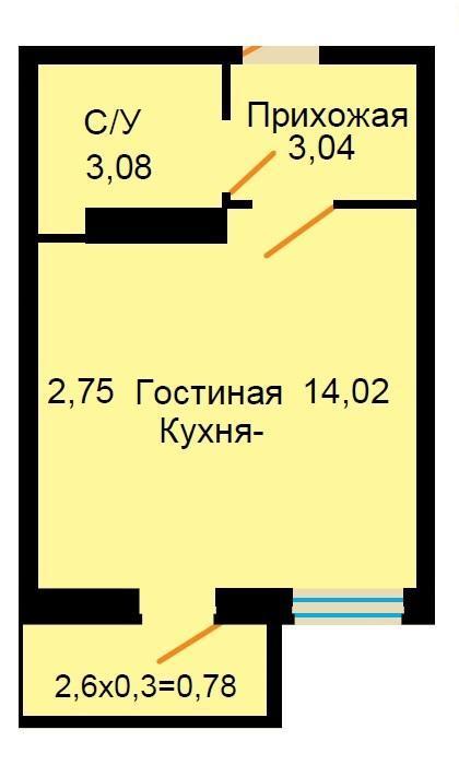 Планировки ЖК Большая Российская Краснодар | план - 9