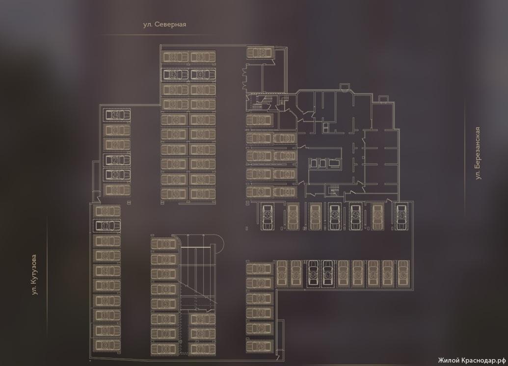 Планировки ЖК Дом на Березанской Краснодар | план - 12