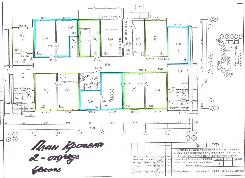 Планировки ЖК Карасунские озера Краснодар | план - 2