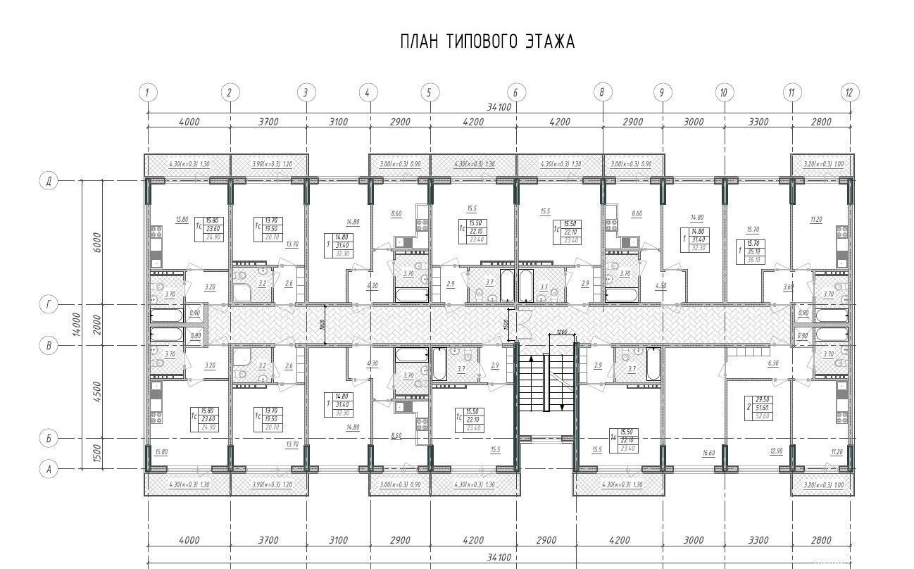 Планировки ЖК Розовый сад Краснодар | план - 1