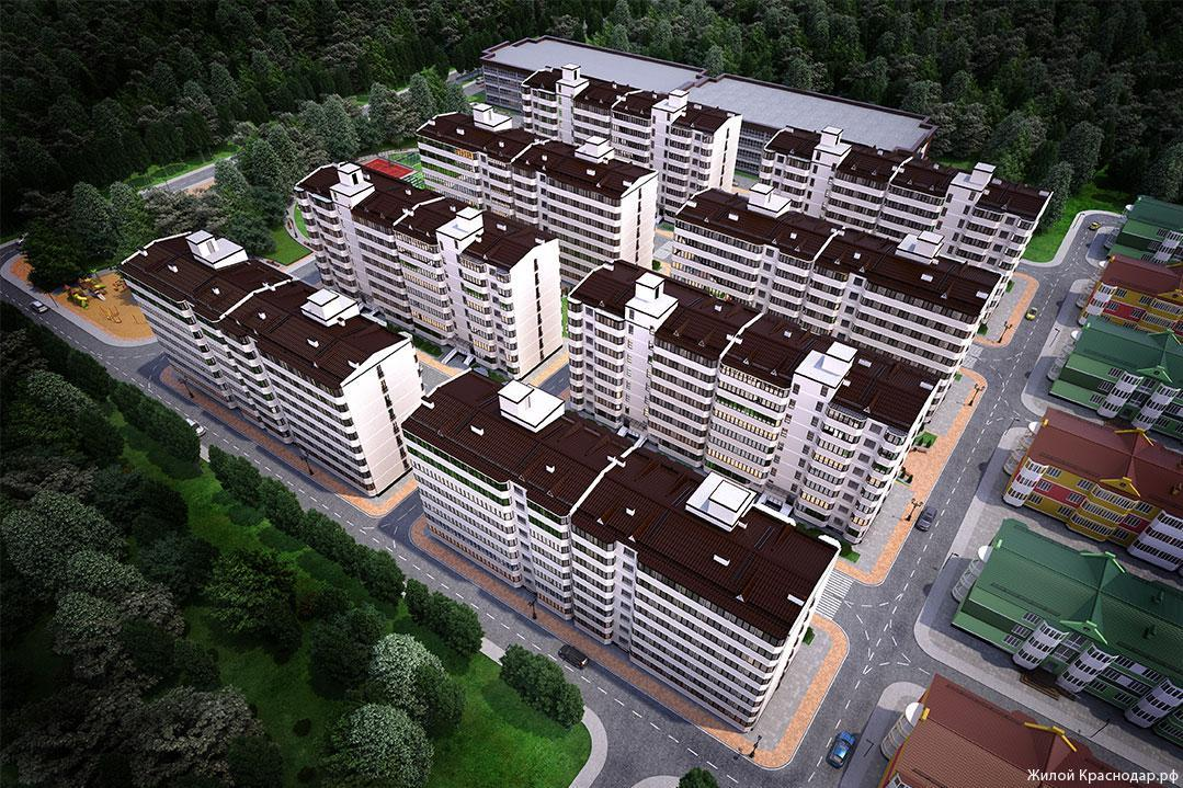 Планировки ЖК Сити Краснодар | план - 1