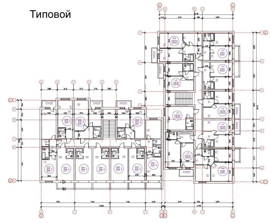 Планировки ЖК София Краснодар | план - 1