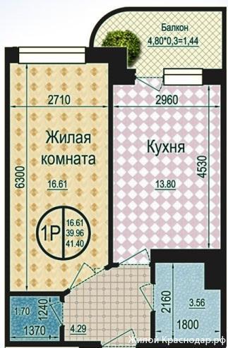 Планировки ЖК Талисман Краснодар | план - 6