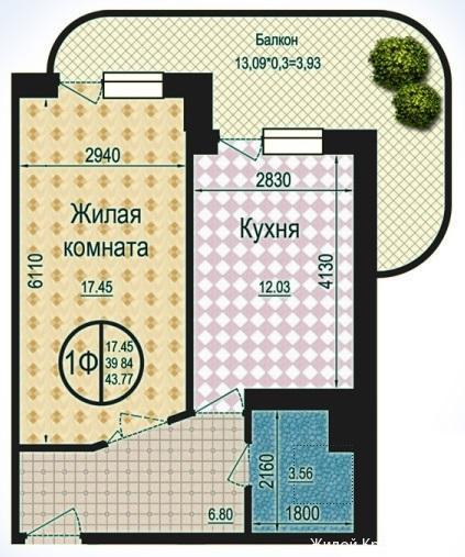 Планировки ЖК Талисман Краснодар | план - 7