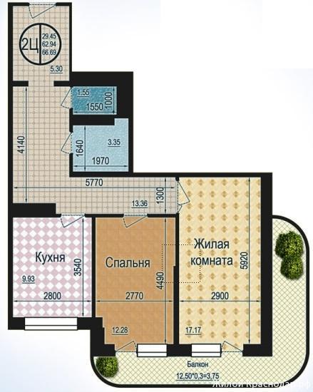 Планировки ЖК Талисман Краснодар | план - 9