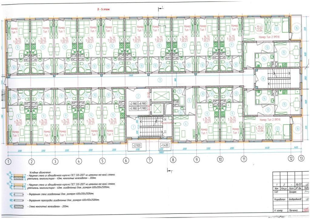 Планировки ЖК Венский Дом Краснодар | план - 1
