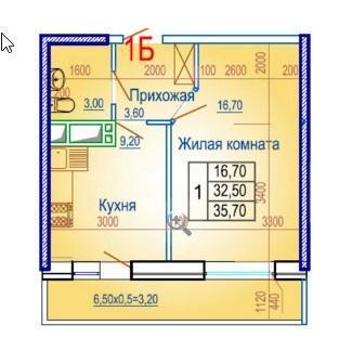 Планировки ЖК Вершина Краснодар | план - 5