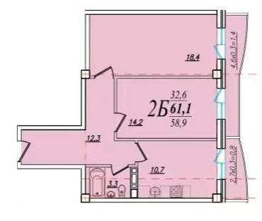 Планировки ЖК Южный сад Краснодар | план - 9