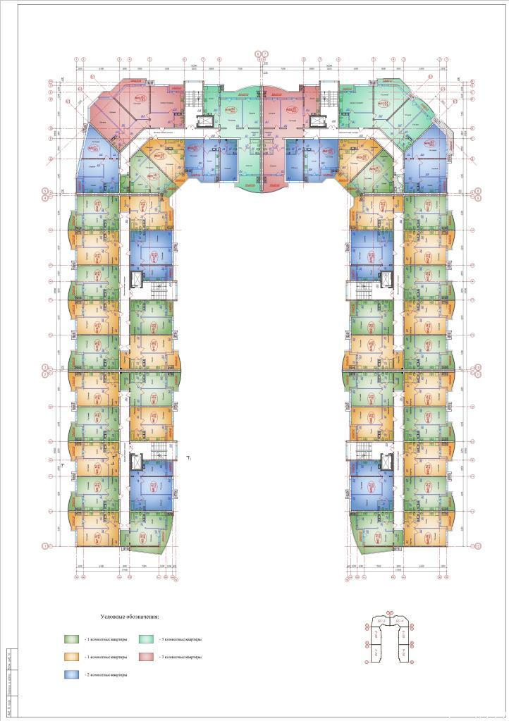 Планировки ЖК Зелёный квартал Краснодар | план - 2
